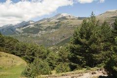Τοπίο στο Aragonese Πυρηναία, Ισπανία Στοκ Εικόνες