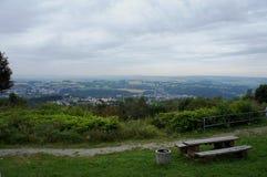 Τοπίο στο Erzgebirge στη Σαξωνία Στοκ φωτογραφία με δικαίωμα ελεύθερης χρήσης