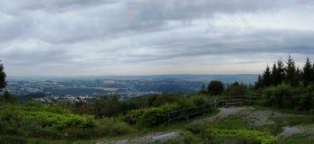 Τοπίο στο Erzgebirge στη Σαξωνία Στοκ φωτογραφίες με δικαίωμα ελεύθερης χρήσης