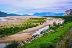 τοπίο τα βόρεια νορβηγικά στοκ φωτογραφίες με δικαίωμα ελεύθερης χρήσης