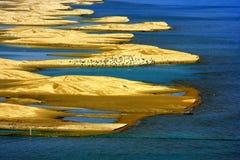 Τοπίο της λίμνης Qinghai Στοκ φωτογραφία με δικαίωμα ελεύθερης χρήσης