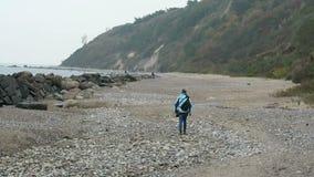 Τοπίο της ακτής Mecklenburg-$l*Vorpommern, Γερμανία νησιών Hiddensee φιλμ μικρού μήκους