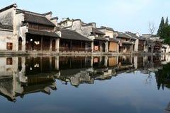 Τοπίο της αρχαίας πόλης Nanxun Στοκ Φωτογραφίες
