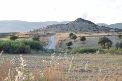 Τοπίο της βόρειας Κύπρου Στοκ Φωτογραφίες