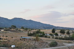 Τοπίο της βόρειας Κύπρου Στοκ φωτογραφίες με δικαίωμα ελεύθερης χρήσης