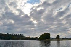 Τοπίο της δεξαμενής αεριωθούμενος-Kot Στοκ Φωτογραφία