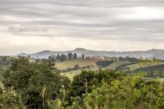 Τοπίο της επαρχίας Βραζιλία του Σάο Πάολο στοκ εικόνα