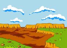 Τοπίο της ερήμου Στοκ εικόνα με δικαίωμα ελεύθερης χρήσης