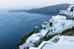 Τοπίο της Ελλάδας Santorini Στοκ Φωτογραφίες