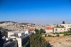 Τοπίο της Ιερουσαλήμ στοκ φωτογραφίες με δικαίωμα ελεύθερης χρήσης