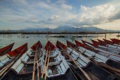 Τοπίο της Ινδονησίας η κεντρική Ιάβα στοκ φωτογραφία με δικαίωμα ελεύθερης χρήσης