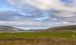 Τοπίο της Ισλανδίας Στοκ Εικόνες