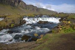 Τοπίο της Ισλανδίας Southerm με έναν ποταμό Στοκ εικόνες με δικαίωμα ελεύθερης χρήσης