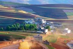 τοπίο της Κίνας αγροτικό Στοκ φωτογραφία με δικαίωμα ελεύθερης χρήσης
