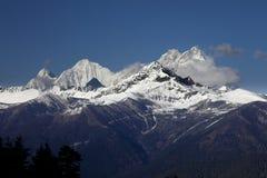Τοπίο της Κίνας Θιβέτ Στοκ φωτογραφία με δικαίωμα ελεύθερης χρήσης