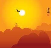 Τοπίο της Κίνας Στοκ φωτογραφία με δικαίωμα ελεύθερης χρήσης