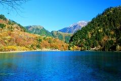 Τοπίο της Κίνας Sichuan Jiuzhaigou Στοκ Φωτογραφίες