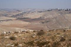 Τοπίο της κοιλάδας της Ιορδανίας Στοκ εικόνα με δικαίωμα ελεύθερης χρήσης