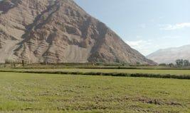 Τοπίο της κοιλάδας Majes σε Perú Στοκ Εικόνες