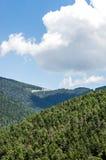 Τοπίο της κορυφογραμμής βουνών Στοκ εικόνες με δικαίωμα ελεύθερης χρήσης