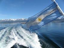 Τοπίο της λίμνης σε Usuahia Αργεντινή στοκ φωτογραφία με δικαίωμα ελεύθερης χρήσης