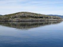 Τοπίο της λίμνης σε Usuahia Αργεντινή στοκ εικόνες με δικαίωμα ελεύθερης χρήσης