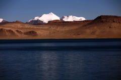 Τοπίο της λίμνης Pumoyongcuo στοκ φωτογραφίες