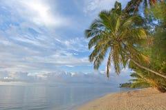 Τοπίο της λιμνοθάλασσας Muri στις νήσους Rarotonga Κουκ ανατολής Στοκ φωτογραφίες με δικαίωμα ελεύθερης χρήσης
