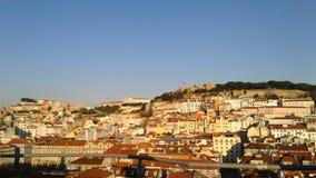 Τοπίο της Λισσαβώνας στοκ εικόνες με δικαίωμα ελεύθερης χρήσης