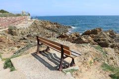 """Τοπίο της Νίκαιας στο """"blue coast† στη Γαλλία Στοκ φωτογραφία με δικαίωμα ελεύθερης χρήσης"""