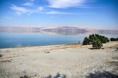 Τοπίο της νεκρής θάλασσας στοκ φωτογραφίες