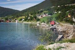 Τοπίο της Νορβηγίας Στοκ φωτογραφία με δικαίωμα ελεύθερης χρήσης
