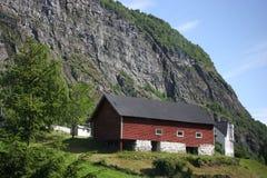 Τοπίο της Νορβηγίας Στοκ εικόνες με δικαίωμα ελεύθερης χρήσης