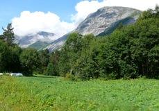 Τοπίο της Νορβηγίας Στοκ Εικόνες