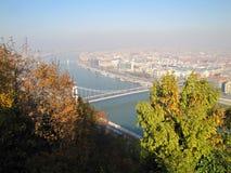 Τοπίο της Ουγγαρίας ομορφιάς, φωτογραφία πόλεων Στοκ Εικόνα