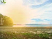 Τοπίο της παραλίας στην Ταϊλάνδη στοκ φωτογραφίες με δικαίωμα ελεύθερης χρήσης