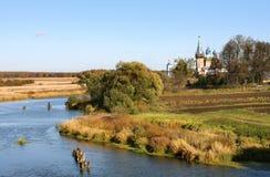 τοπίο της Ρωσίας φθινοπώρ&omic Στοκ Φωτογραφίες