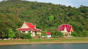 Τοπίο της Ταϊλάνδης απόθεμα βίντεο