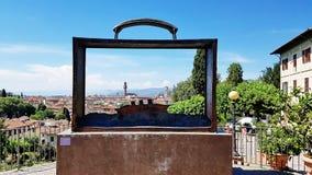 Τοπίο της Τοσκάνης στη Φλωρεντία, Ιταλία Στοκ Εικόνες