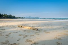 Τοπίο της τροπικής παραλίας νησιών παραδείσου στοκ φωτογραφίες