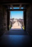 Τοπίο της Φλώριδας οχυρών του ST Augustine Στοκ Φωτογραφία