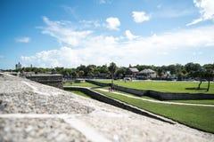 Τοπίο της Φλώριδας οχυρών του ST Augustine Στοκ φωτογραφίες με δικαίωμα ελεύθερης χρήσης