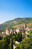 τοπίο Τοσκάνη της Ιταλίας παραδοσιακή στοκ φωτογραφία με δικαίωμα ελεύθερης χρήσης