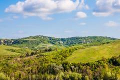 τοπίο Τοσκάνη της Ιταλίας Στοκ Εικόνες