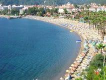τοπίο Τουρκία ακτών παραλ& Στοκ εικόνες με δικαίωμα ελεύθερης χρήσης