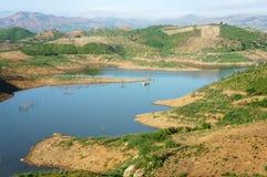 Τοπίο του Βιετνάμ, βουνό, γυμνός λόφος, αποδάσωση στοκ εικόνες