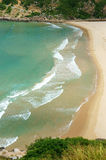 Τοπίο του Βιετνάμ, παραλία, βουνό, οικολογία, ταξίδι Στοκ εικόνα με δικαίωμα ελεύθερης χρήσης