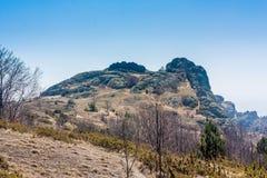 Τοπίο του βουλγαρικού λόφου βουνών Στοκ Εικόνα