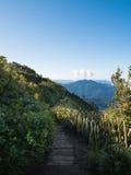 Τοπίο του βουνού και του λόφου στοκ φωτογραφίες με δικαίωμα ελεύθερης χρήσης