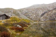 Τοπίο του βουνού Taibai Στοκ Εικόνα